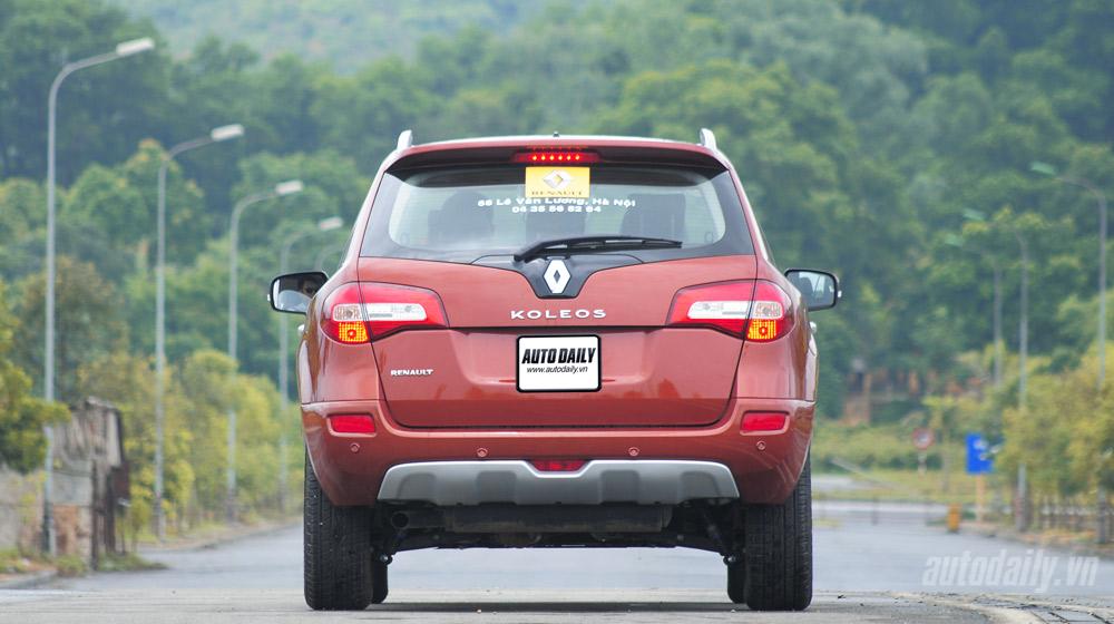 Thưởng thức tiện nghi trên Renault Koleos 2014 - 3