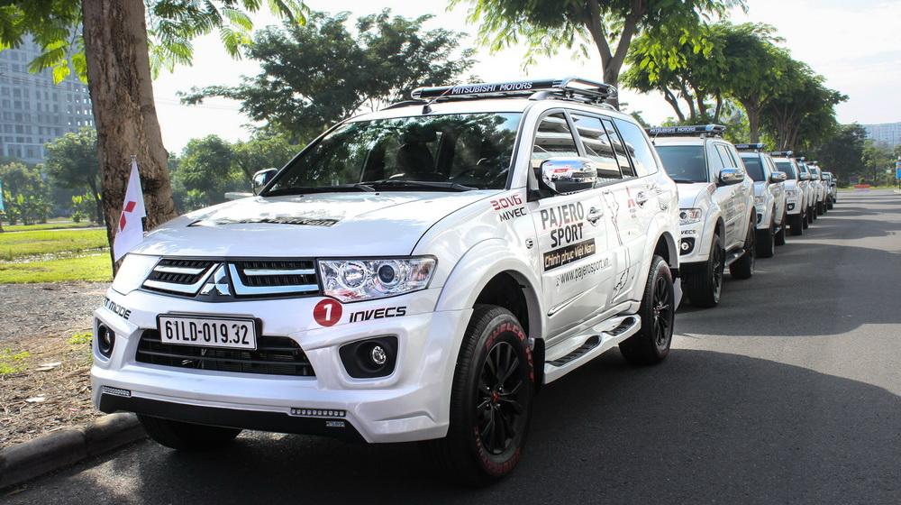 Khởi động hành trình xuyên Việt cùng Mitsubishi Pajero Sport - 2