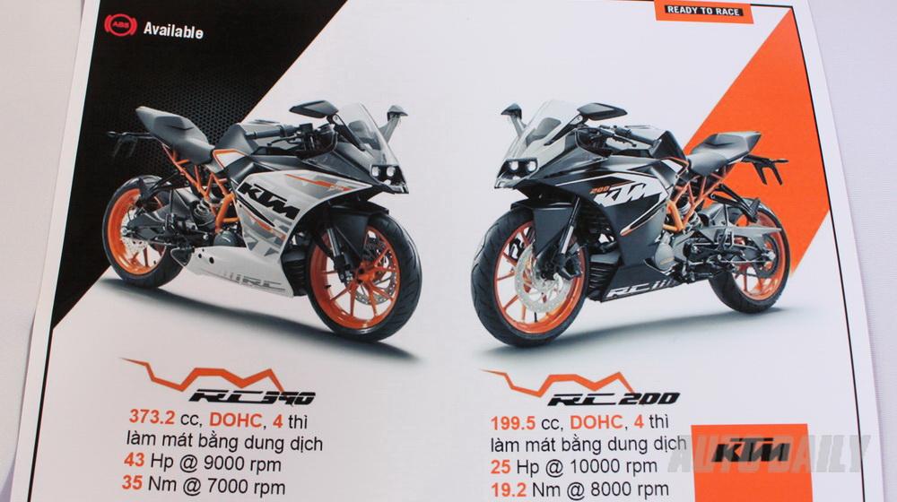 Ra mắt KTM RC200 và RC390 tại Việt Nam - 2