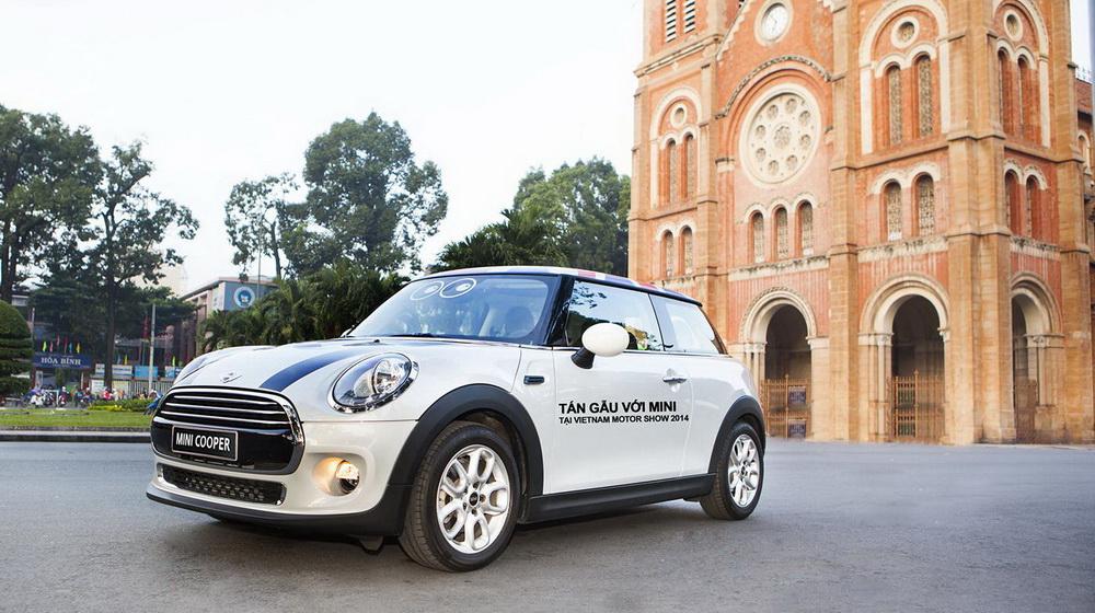 """Mini Cooper đã sẵn sàng """"khai hỏa"""" tại Vietnam Motor Show 2014 - 4"""