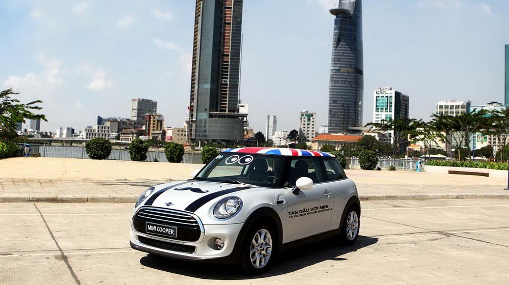 """Mini Cooper đã sẵn sàng """"khai hỏa"""" tại Vietnam Motor Show 2014 - 3"""