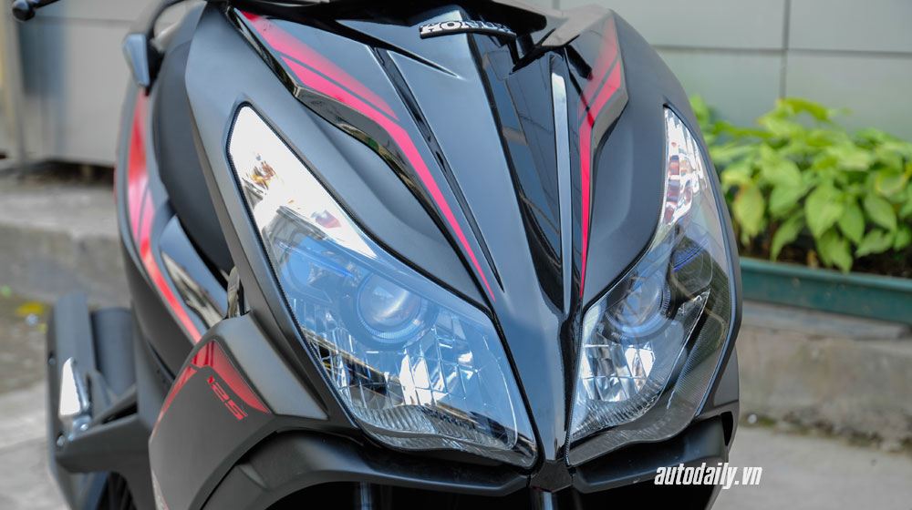 Honda Air Blade Black Editon 2015 - Sự kết hợp hoàn hảo - 4