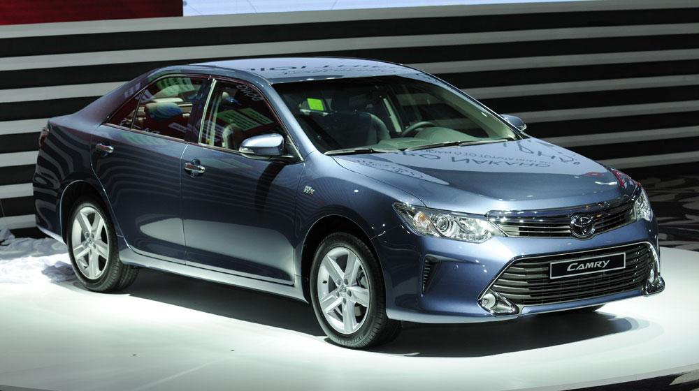 Toyota Cần Thơ: Chính thức ra mắt, Toyota Camry 2015 có giá từ 1,078 tỷ đồng