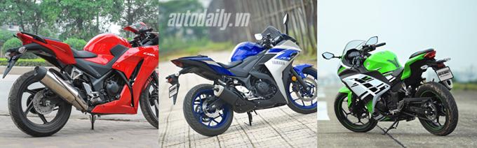 Nên chọn mua Honda CBR300R, Yamaha R3 hay Kawasaki Ninja 300 với giá 200 triệu? 3