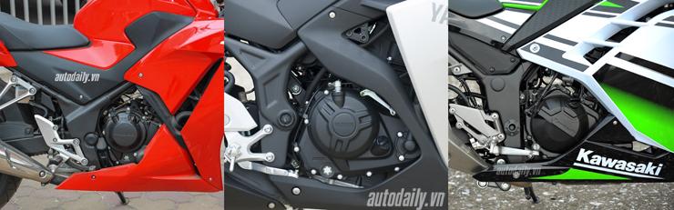 Nên chọn mua Honda CBR300R, Yamaha R3 hay Kawasaki Ninja 300 với giá 200 triệu? 12