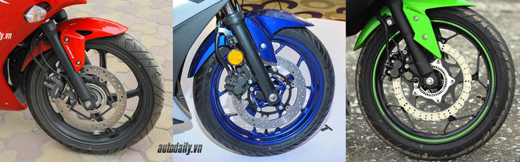 Nên chọn mua Honda CBR300R, Yamaha R3 hay Kawasaki Ninja 300 với giá 200 triệu? 9