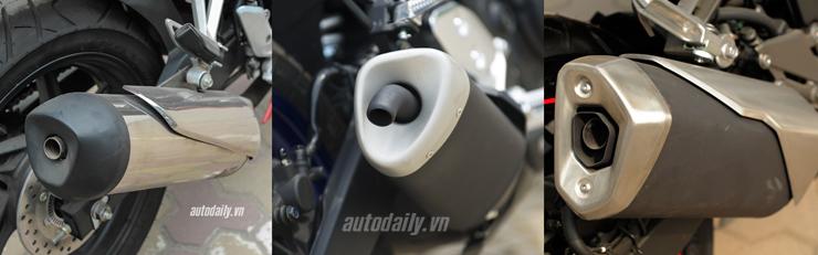 Nên chọn mua Honda CBR300R, Yamaha R3 hay Kawasaki Ninja 300 với giá 200 triệu? 13