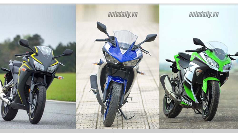 Nên chọn mua Honda CBR300R, Yamaha R3 hay Kawasaki Ninja 300 với giá 200 triệu? 1