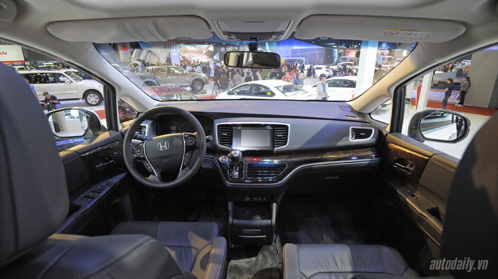 giá xe Honda Odyssey Honda Odyssey công bố giá bán tại Việt Nam honda odyssey vms 2015 20 10