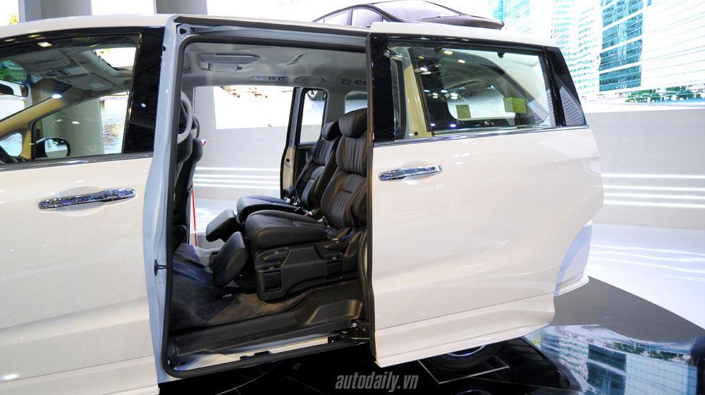 giá xe Honda Odyssey Honda Odyssey công bố giá bán tại Việt Nam honda odyssey vms 2015 20 9