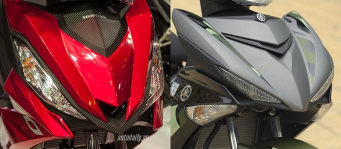 So sánh chi tiết Exciter 150cc vs Winner 150cc về hình ảnh, thiết kế và giá bán 2