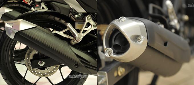 So sánh chi tiết Exciter 150cc vs Winner 150cc về hình ảnh, thiết kế và giá bán 7