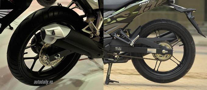 So sánh chi tiết Exciter 150cc vs Winner 150cc về hình ảnh, thiết kế và giá bán 6